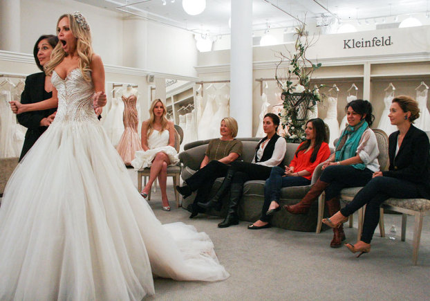 Abito da Sposa Cercasi su Real Time,l\u0027Atelier di Kleinfeld Bridal