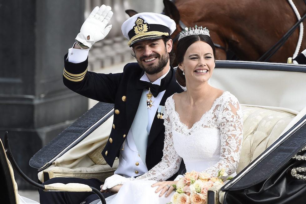 Matrimonio Reale in Svezia: il Principe Carl Philip e Sofia